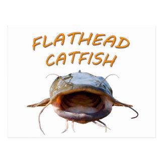 Big Mouth Fishing Postcard