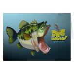 Big mouth! greeting card