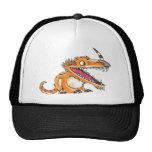 Big-Mouth Orange Monster Trucker Hat