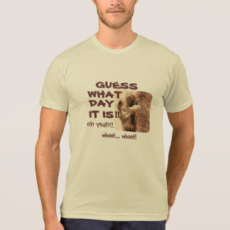 Big Mouthed Camel Funny Hump Day Shirt (tan/brown)