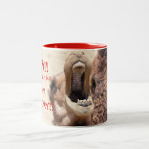 Big Mouthed Camel, Hump Day Red Mug
