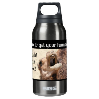 Big Mouthed Camel, time to get your hump on! blue Thermos Bottle