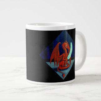 Big mug, little dragon. large coffee mug