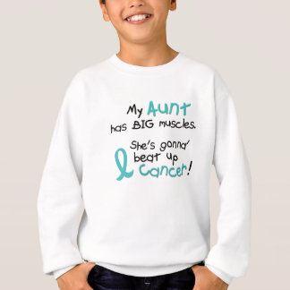 Big Muscles 2 TEAL (Aunt) Sweatshirt