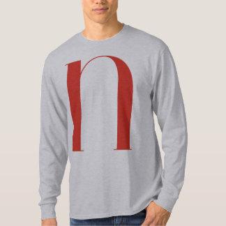 Big N: Jeanne Moderno Lettres T-Shirt