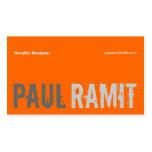 Big Name Font 3 Business Card