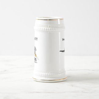 Big Nasty A-10  - (light color) Beer Stein