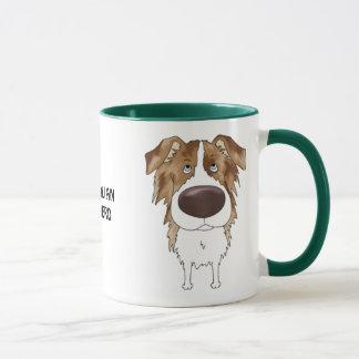 Big Nose Australian Shepherd Mug