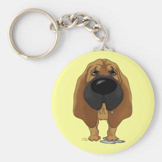 Big Nose Bloodhound Keychains