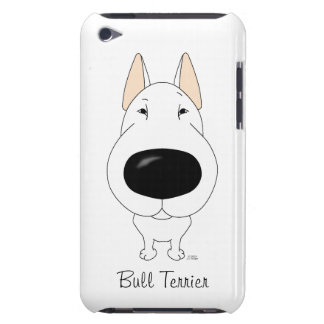 Big Nose Bull Terrier Barely There iPod Cover