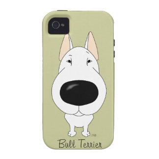 Big Nose Bull Terrier Case-Mate iPhone 4 Covers