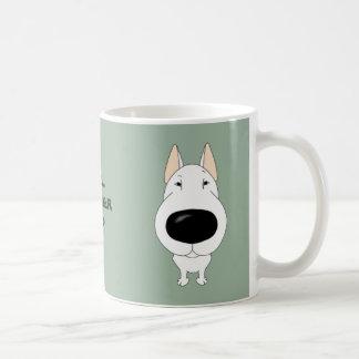 Big Nose Bull Terrier Classic White Coffee Mug