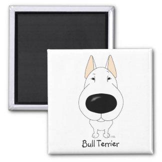Big Nose Bull Terrier Fridge Magnet
