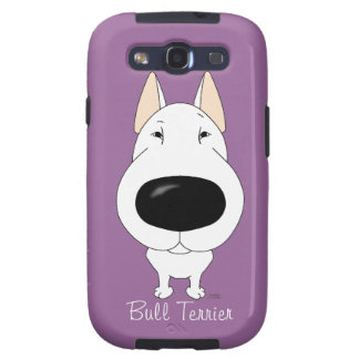 Big Nose Bull Terrier Galaxy SIII Cover