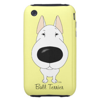 Big Nose Bull Terrier iPhone 3 Tough Cases