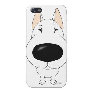 Big Nose Bull Terrier iPhone 4 Case