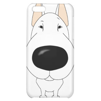 Big Nose Bull Terrier iPhone 4 Case