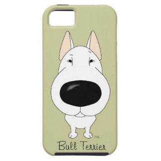 Big Nose Bull Terrier iPhone 5 Case