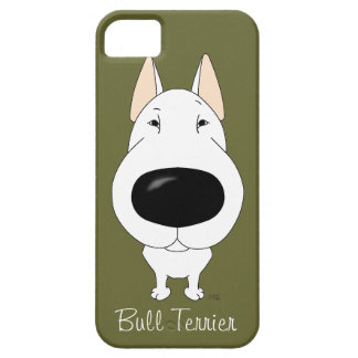Big Nose Bull Terrier iPhone 5 Cover