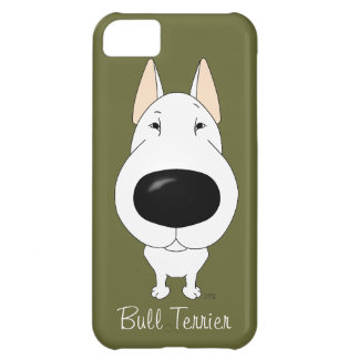 Big Nose Bull Terrier iPhone 5C Cover