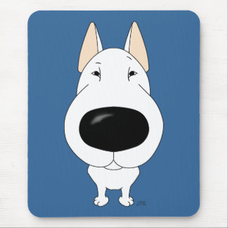 Big Nose Bull Terrier Mouse Pad