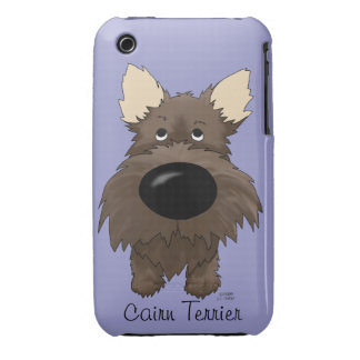 Big Nose Cairn Terrier iPhone 3 Cases
