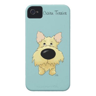 Big Nose Cairn Terrier iPhone 4 Cases