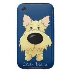 Case-Mate iPhone 3G/3GS Barely There Case with Cairn Terrier Phone Cases design