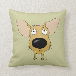 Big Nose Chihuahua Throw Pillow