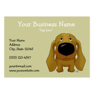 Big Nose Dachshund Large Business Card