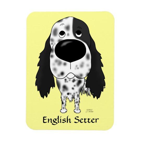 Big Nose English Setter Magnet