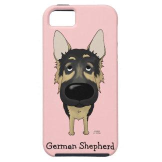 Big Nose German Shepherd iPhone SE/5/5s Case