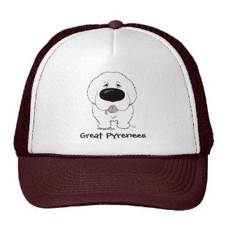 Big Nose Great Pyrenees Trucker Hat
