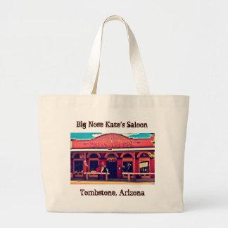 Big Nose Kate's Saloon Tombstone Arizona Jumbo Tote Bag