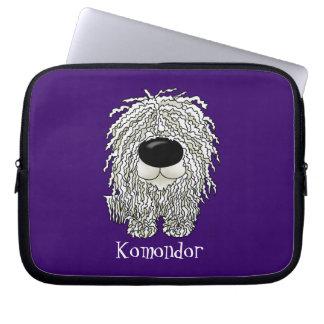 Big Nose Komondor Laptop Sleeve