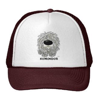 Big Nose Komondor Mesh Hats