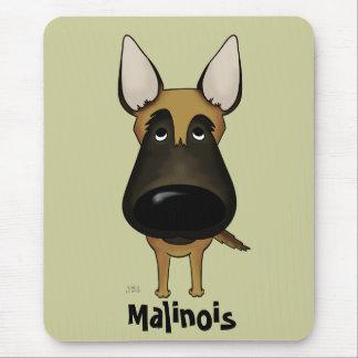 Big Nose Malinois Mouse Pad