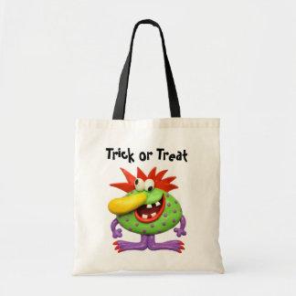 Big Nose Monster Tote Bag