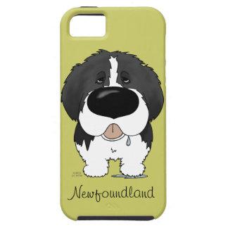 Big Nose Newfoundland iPhone 5 Cases