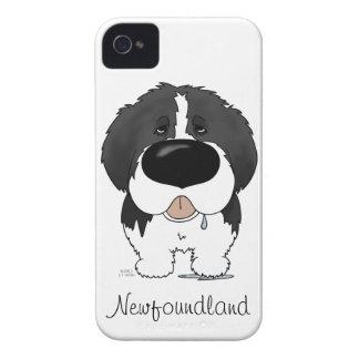 Big Nose Newfoundland iPhone 4 Cover