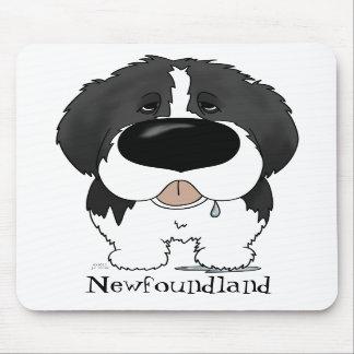 Big Nose Newfoundland Mouse Pads