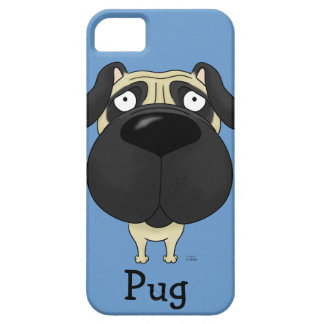 Big Nose Pug iPhone SE/5/5s Case