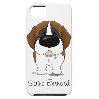 Big Nose Saint Bernard iPhone SE/5/5s Case