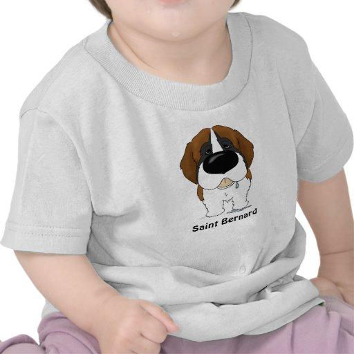 Big Nose Saint Bernard Tee Shirt