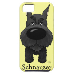 Big Nose Schnauzer iPhone SE/5/5s Case