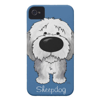 Big Nose Sheepdog iPhone 4 Cover