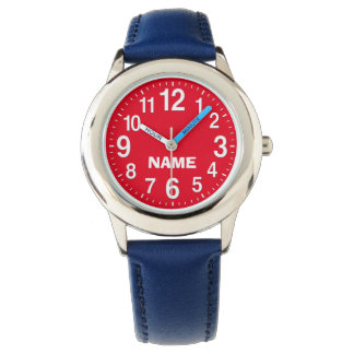 BIG NUMBER Watches for Kids and Adults