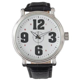 Big Numbers Wristwatch