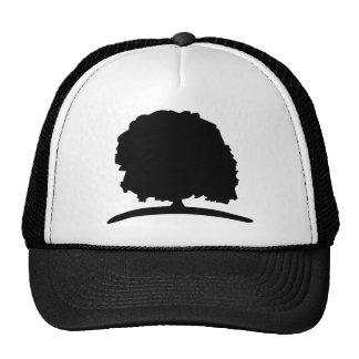 big oak tree green trucker hat