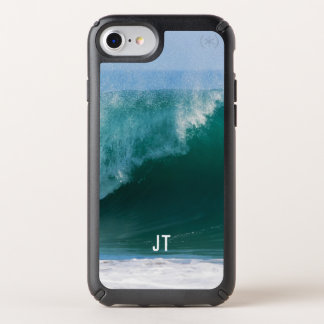 Big Ocean Wave Initials Cool Speck iPhone Case